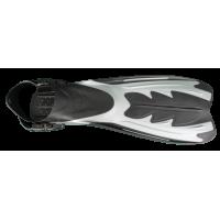 Extreme fins black grey