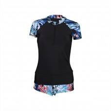 Ladies lycra swimsuit 2 piece
