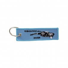 Keychain technical diver