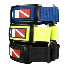 Strap with cam buckle black