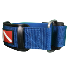 Strap with cam buckle blue