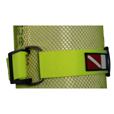 Strap with cam buckle yellow