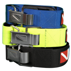 Webbing with ss cam buckle blue