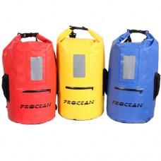 Trockentasche 30 liter mit 3 Taschen