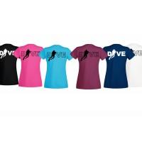 T-shirt Dive women