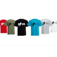 T-shirt Dive men