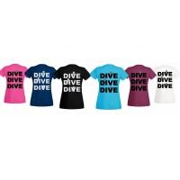 T-shirt Dive dive dive women