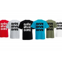 T-shirt dive dive dive  S men