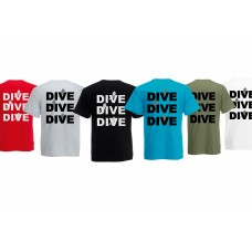 T-shirt dive dive dive men