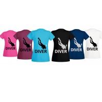 T-shirt Diver women