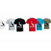 T-shirt Diver men