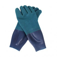 Drygloves with latex seal blue OUTLET