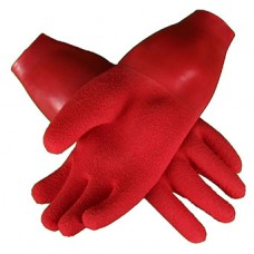 Drygloves with latex seal red
