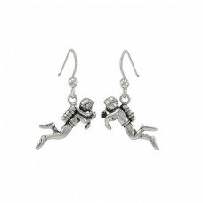 Diver earrings