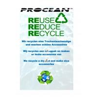 Recycle uw droogpak