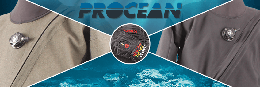 Procean is manufacturer of dry- and undersuits since 1993