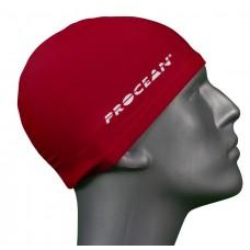 Lycra swimcap red