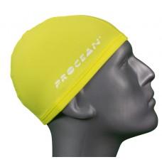 Lycra swimcap yellow
