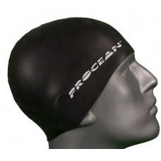 Silicon swimcap black