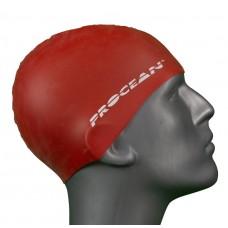 Silicon swimcap red