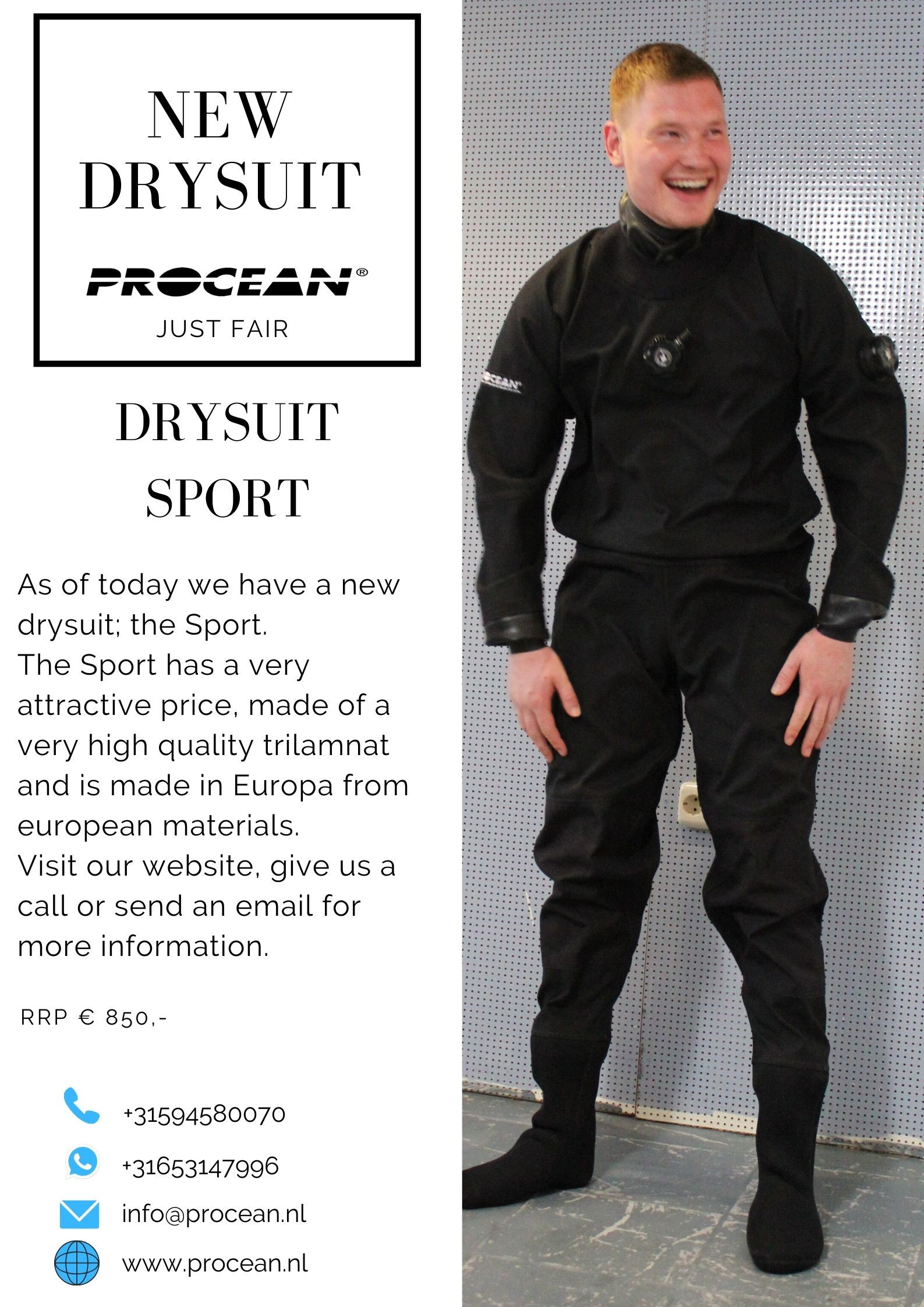 New drysuit